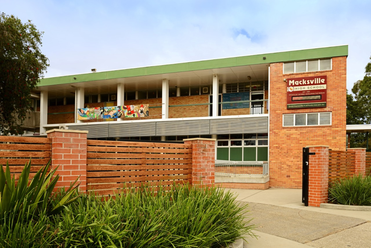 Image of front of school. We aim to give all students the opportunity to realise their potential in a caring and safe environment.